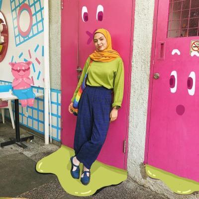 4 OOTD Hijab Nuansa Hijau ala Selebgram yang Bikin Kamu Fresh