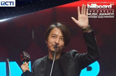 Reaksi Lucu Fiersa Besari Usai Jadi Penyanyi Pria Terbaik Versi BIMA 2020