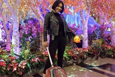 Imbas Korona di Singapura, Denada Khawatir Bawa sang Putri Berobat ke Rumah Sakit