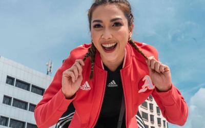 4 OOTD ala Andrea Dian, Bikin Gayamu Selalu Semangat