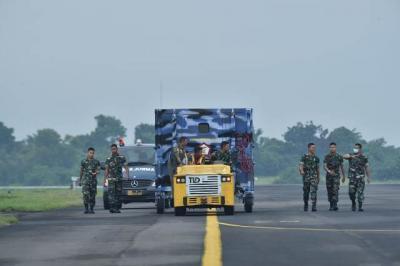 Gugas Percepatan Penanganan Covid-19 Uji Dinamis KIMU di Lanud Halim Perdanakusuma