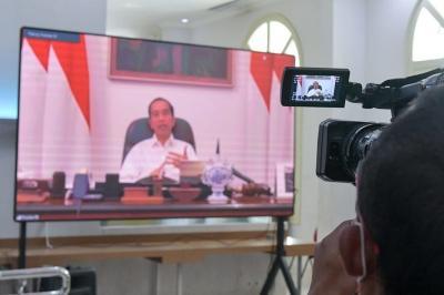Presiden Jokowi Sebut Pemudik Merupakan Pekerja Informal di Jabodetabek