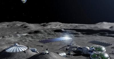 Astronot Manfaatkan Urine Bikin Pangkalan di Bulan