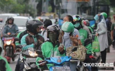 Pandemi Corona, Driver Ojol: Kalau Enggak Keluar Rumah, Enggak Makan
