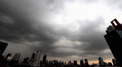 Jakarta Diprediksi Hujan dengan Intensitas Ringan hingga Sedang