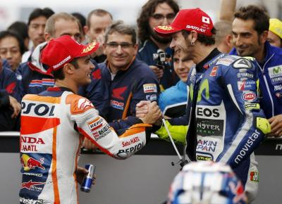 Marquez Nilai Keberadaan Rossi dan Pedrosa Penting untuk MotoGP