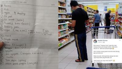 Pandemi COVID-19, Malaysia Perintahkan Suami Belanja ke Pasar