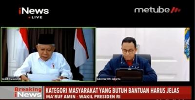 Gubernur Anies Kirim Surat Pengajuan Status PSBB Jakarta ke Menkes Terawan