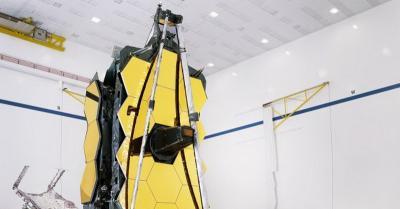 NASA Berhasil Pasang Cermin Raksasa James Webb Telescope
