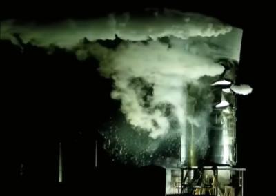 Prototipe Pesawat Luar Angkasa Starship Meledak Selama Pengujian Tekanan