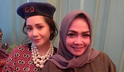 Nagita Slavina Tak Bisa Peluk dan Cium sang Ibu di Hari Ulang Tahun