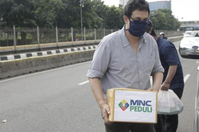 MNC Peduli Salurkan Bantuan ke Anak Positif Corona di Sawah Besar