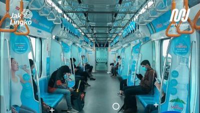 PSBB Jakarta Cegah Corona COVID-19, Jangan Sentuh 5 Benda Ini saat Naik MRT