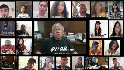 Lawan COVID-19, Musisi Cover Lagu Pemuda Bareng Menteri PUPR