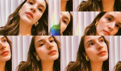 Manisnya Wajah Chelsea Islan Virtual Photoshoot di Rumah