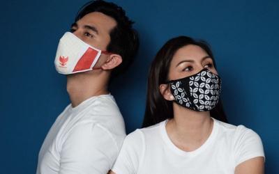 Sambut New Normal, Darius-Donna Pamer Masker Keren Bermotif Garuda