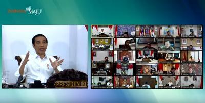 New Normal, Presiden Jokowi Minta Industri Pariwisata Dibuka dengan Mematuhi Protokol Kesehatan