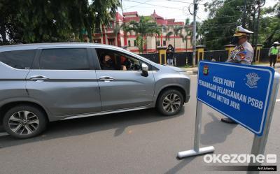 749 Angkutan Travel 'Gelap' yang Angkut Pemudik Ditindak Polisi