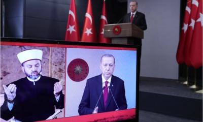 Erdogan Peringati Penaklukan Konstantinopel dengan Doa Bersama di Hagia Sophia
