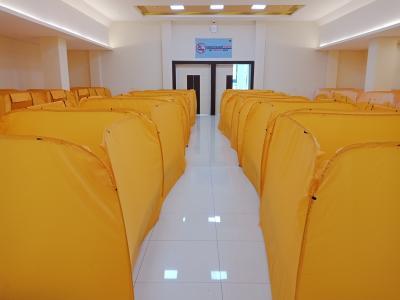 Menilik Bilik Isolasi Mandiri untuk Pasien Covid-19 di Pademangan