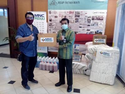 MNC Peduli Kembali Bantu RSUP Fatmawati, RS Anna dan RSPI Sulianti Saroso