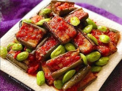 Resep Terong Balado Petai untuk Makan Malam, Endeus Banget!