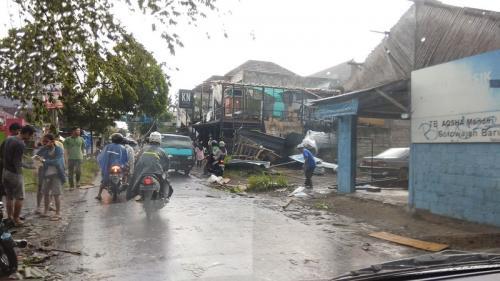Puting Beliung Terjang Yogyakarta, Satu Dosen Terluka Tertimpa Dahan Pohon