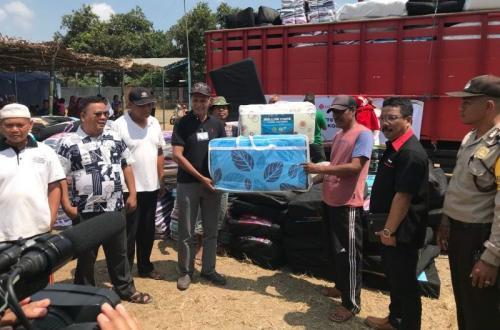 Ikut Rasakan Duka Korban Gempa Lombok, MNC Peduli-Lotte Mart Salurkan Bantuan