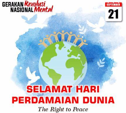 Hari Perdamaian Internasional Momentum Jaga Persatuan dan Kesatuan Bangsa
