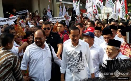 Timses Targetkan Jokowi-Ma'ruf Raih Lebih dari 60% Suara di DKI