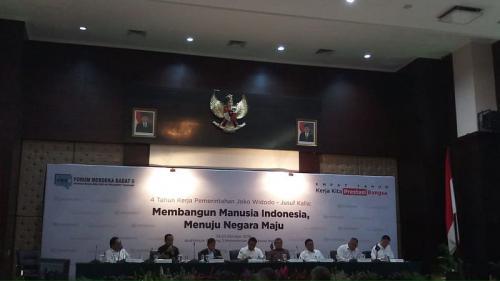 4 Tahun Jokowi-JK, Para Menteri Ini <i>Blak-blakan</i> soal Indonesia Sentris