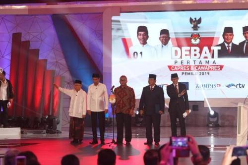 Debat Pilpres 2019, Jokowi-Ma'ruf dan Prabowo-Sandiaga Dinilai Tak Menyentuh Akar Persoalan