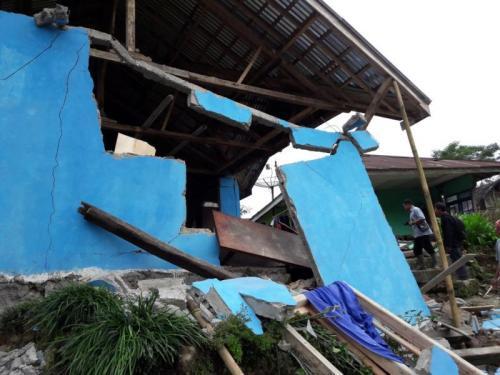 (Foto: Ilustrasi terdampak bencana gempa/Okezone)