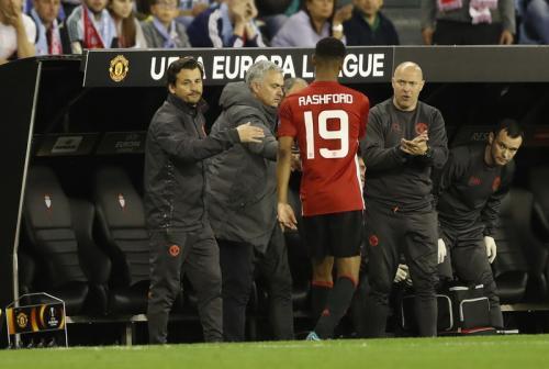 Marcus Rashford dan Jose Mourinho