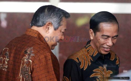 SBY dan Jokowi. (Foto: Okezone)