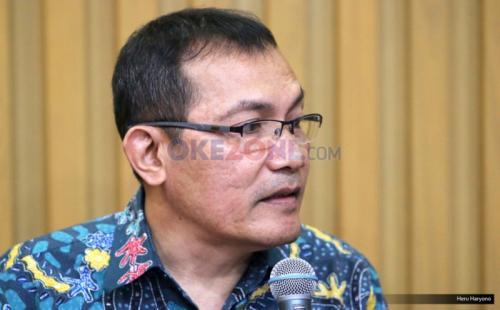 Wakil Ketua KPK Saut Situmorang. (Foto : Heru Haryono/Okezone)