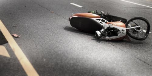 kecelakaan sepeda motor