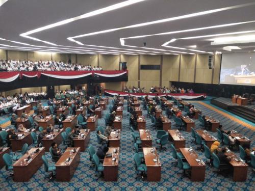 DPRD DKI Jakarta. (Foto : Dok Okezone)