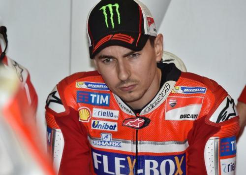 Penampilan Jorge Lorenzo bersama Ducati