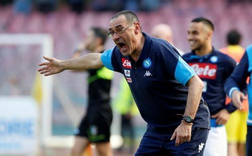 Maurizio Sarri di Napoli