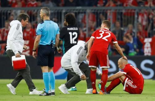 Arjen Robben diketahui rawan cedera