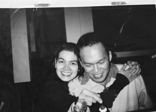 Orangtua Shafa Harris
