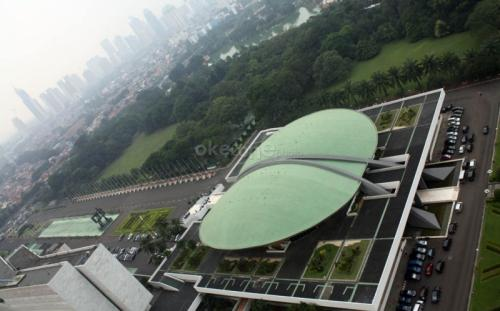Gedung DPR Foto: Okezone