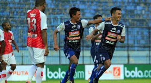 Arema FC (Foto: Okezone/Avirista Midaada)