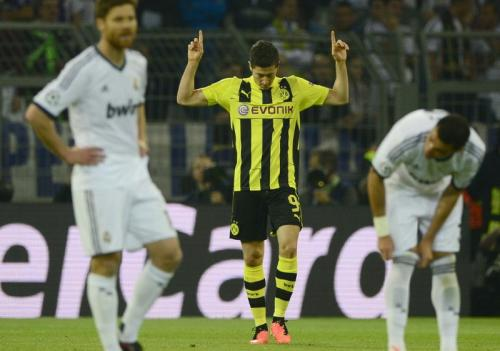 Lewandowski saat masih membela Dortmund