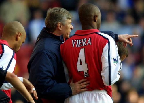 Arsene Wenger kala menangani Arsenal