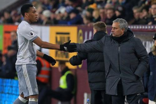 Anthony Martial dan Jose Mourinho