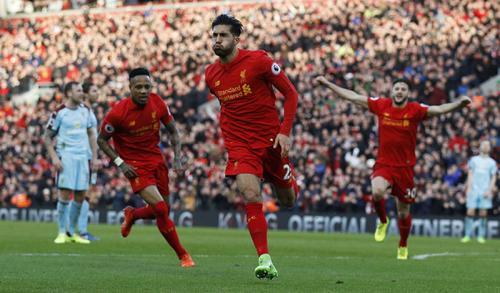 Emre Can pernah memperkuat Liverpool