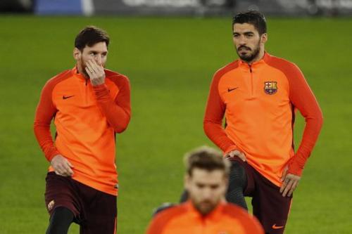 Luis Suarez dan Messi