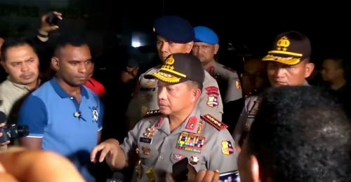 Kapolri Jenderal Tito Karnavian. (Foto : Badriyanto/Okezone)